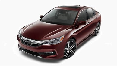 Honda Accord 2017 Model Side look