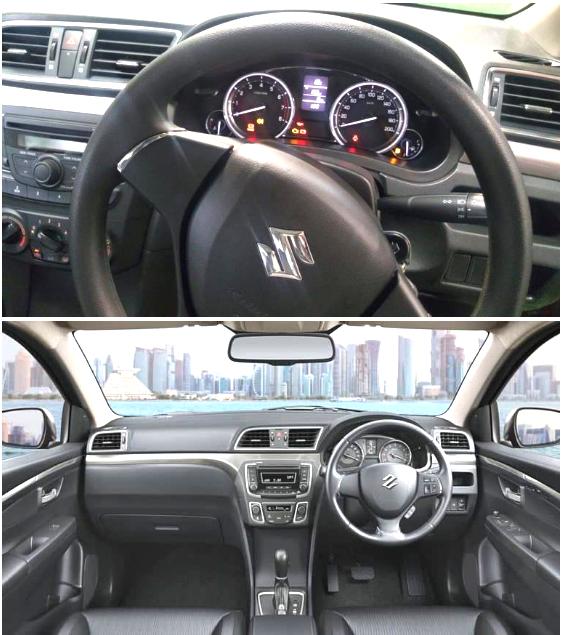 Suzuki ciaz 2017 Interior