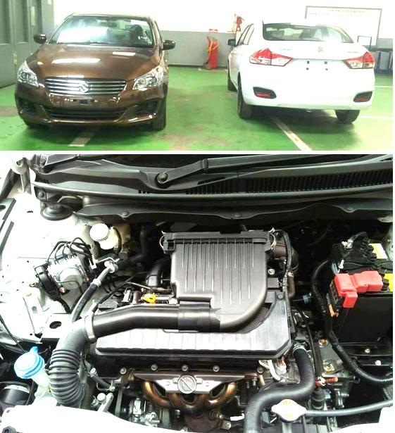 Suzuki ciaz 2017 Engine