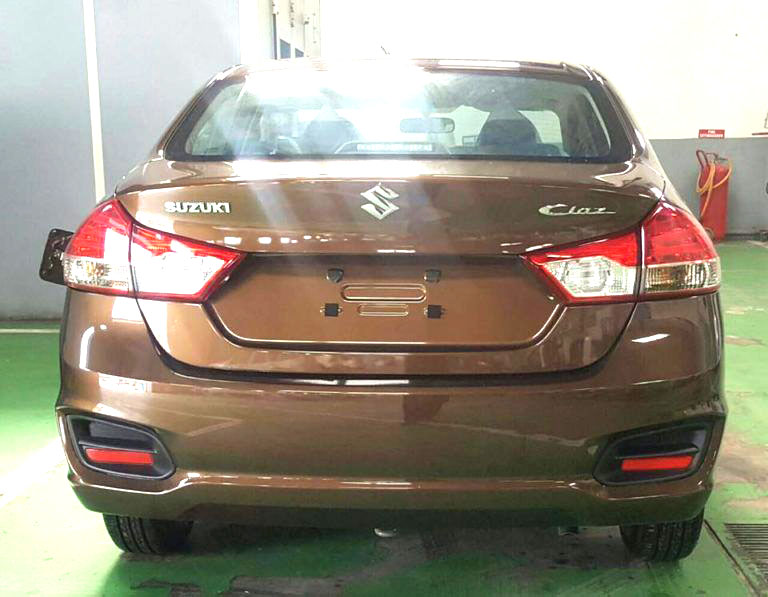 Suzuki ciaz 2017 Back Look
