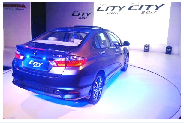 Honda City 2017 Facelift Price in Pakistan Back look