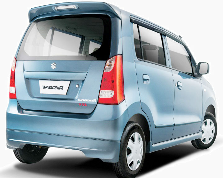 Suzuki WagonR VXL 2017 Back look