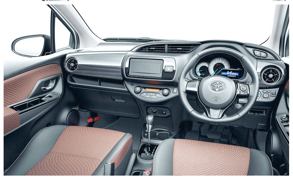 Toyota Vitz 2018 Pictures in Pakistan