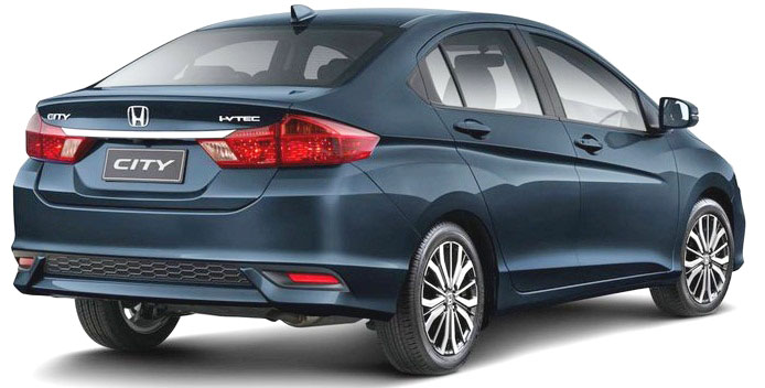 Pictures of New Honda City 2018 in Pakistan