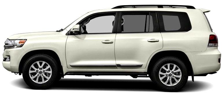 Side look Picture of Toyota Land Cruiser 2017 Luxury SUV in Pakistan