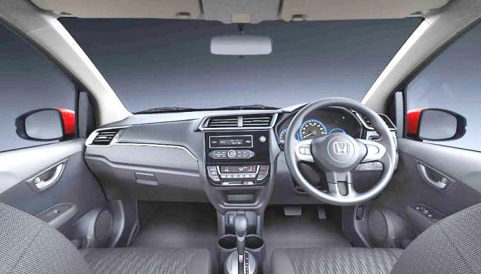 Honda Brio 2018 Interior Picture in Pakistan