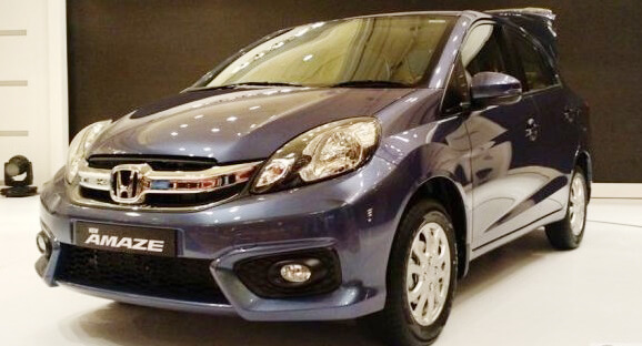 New Honda Amaze 2018 Pictures in Pakistan front side picture