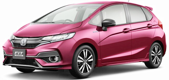 Honda Jazz Facelift 2017/2018 Pictures front side