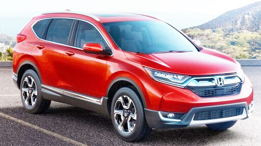 Honda CR-V 2017/2018 Pictures in Pakistan front look