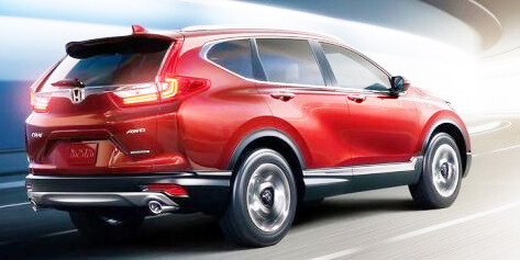 Honda CR-V 2017/2018 Pictures in Pakistan back look