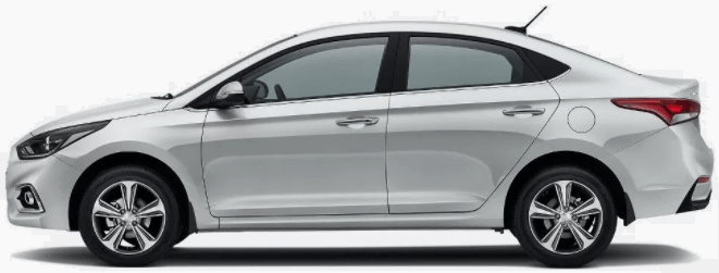 Hyundai Verna 2017 Prices in Pakistan side picture
