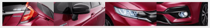 Honda Jazz Facelift 2017/2018 Pictures headlights
