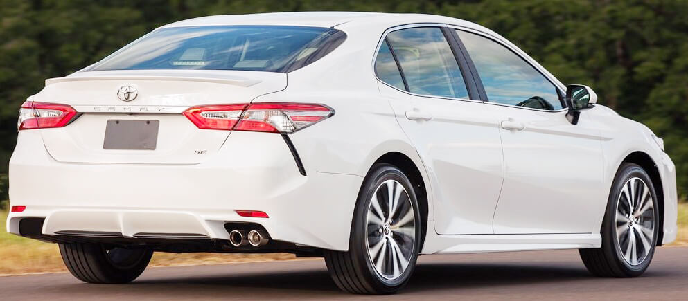 Toyota Camry 2018 Pictures in Pakistan back side picture
