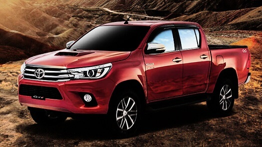 Pictures of New Toyota Hilux Revo 2018 in Pakistan