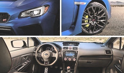 Pictures of New Subaru Impreza 2018 in Pakistan