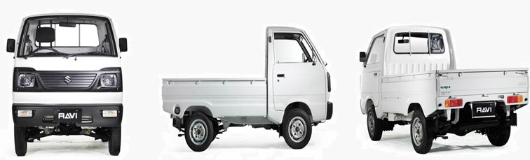 Pictures of New Suzuki Ravi Pickup 2018 in Pakistan
