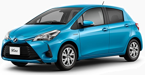 Toyota Vitz Hybrid 2018 Pictures in Pakistan
