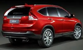 Honda CR V 2018 Pictures in Pakistan