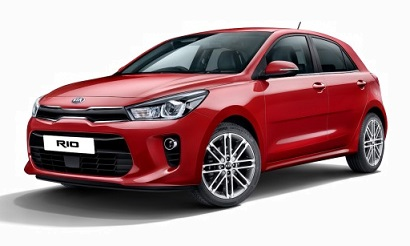 New Kia Rio 1.0 2018 Pictures in Pakistan
