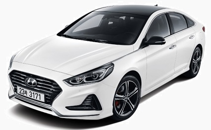 Hyundai Sonata 2018 Pictures in Pakistan